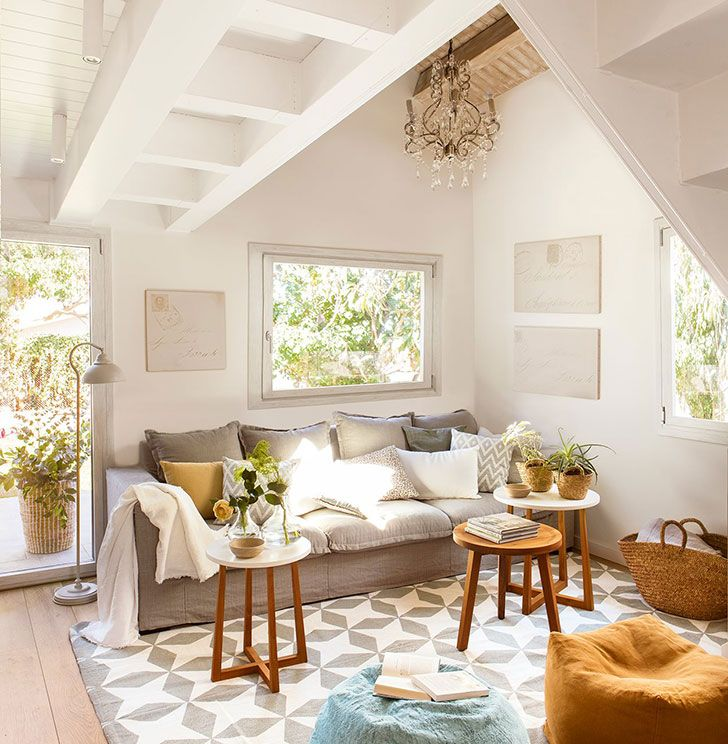 small house of 70 sqm in barcelona interiors online smallest house and ceilings - Beautiful Interiors Of Small Houses