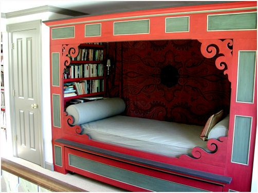 Horizon Art And Design Interiors Addict Bookshelf Bed Bedroom Makeover