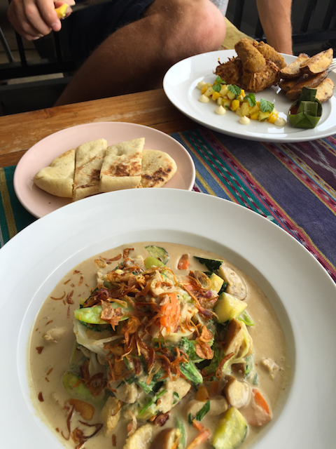 Hämmentäjä: Balinese food. Balilainen ruoka