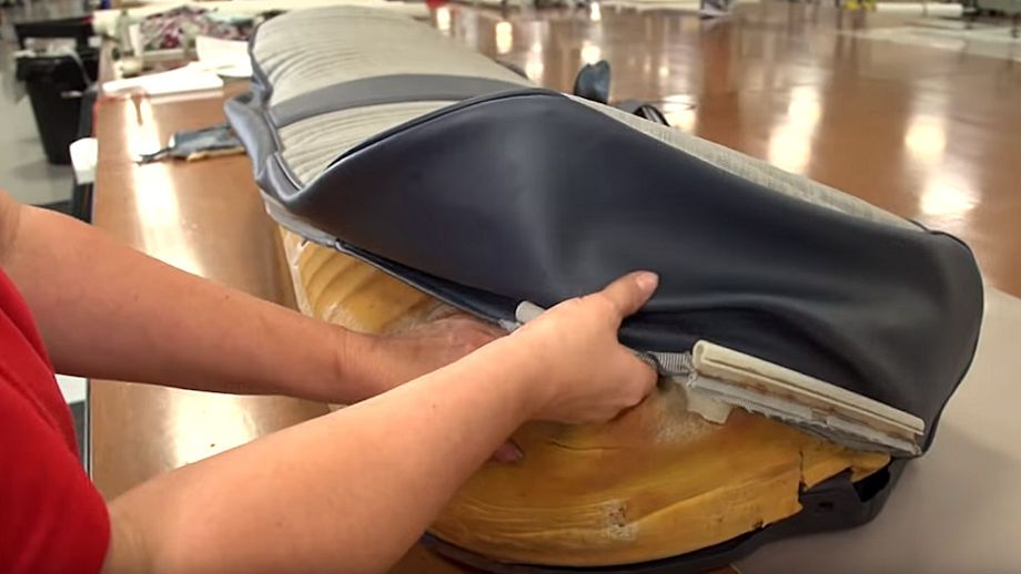 How to Reupholster a Truck Seat Hot Rod How To & DIY