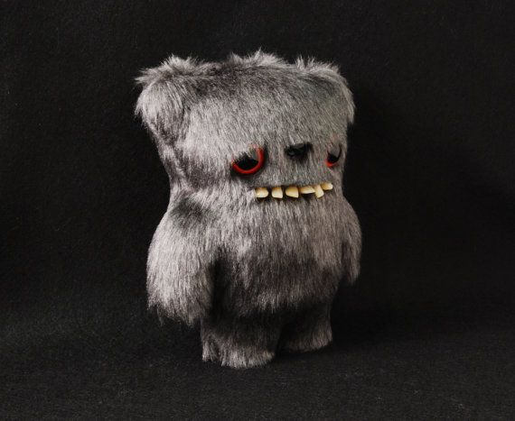 Igor with teeth  Artist Teddy Bear  Handmade and by uncannyartshop, £25.00