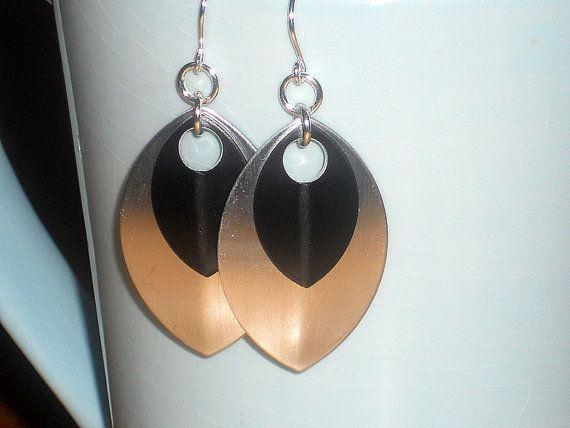 Dangle Silver Earrings Lightweight Earrings Party by mcutecharms, $7.99
