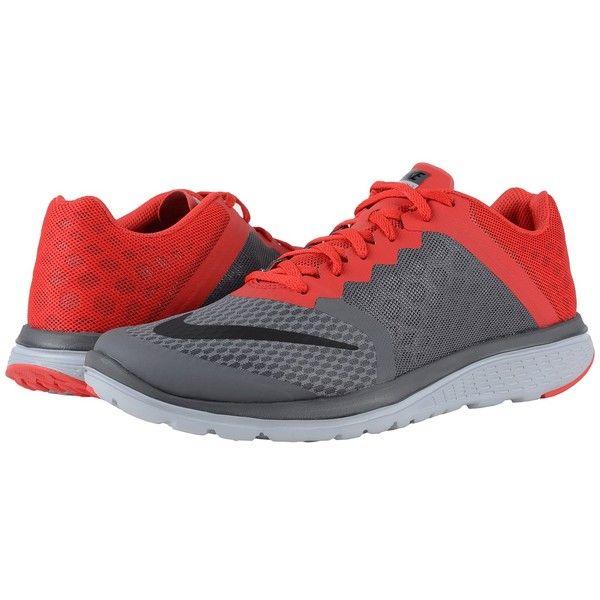 Popular Brand Mens Athletic Shoes - Nike Fs Lite Run 3 Dark Grey/University Red/Wolf Grey/Black