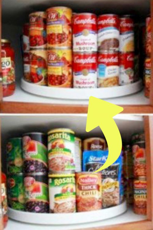 Canned Food Storage Ideas The Best Canned Food Storage Hacks Canned Food Storage Apartment Kitchen Storage Ideas Small Apartment Kitchen