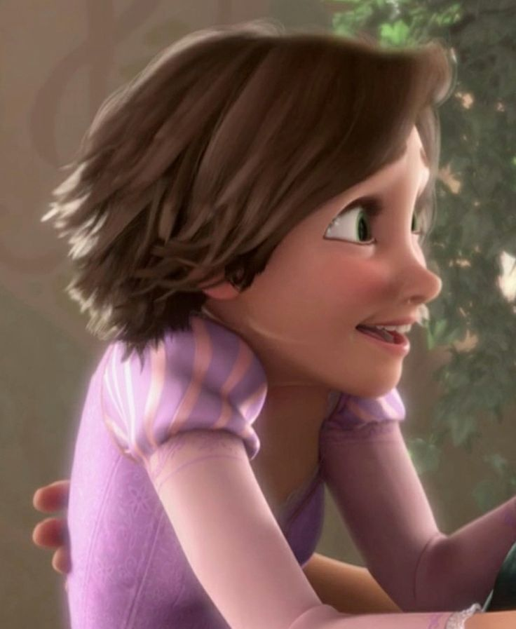 Tangled Rapunzel Short Hair | Rapunzel short hair, Short hair styles, Tangled rapunzel hair