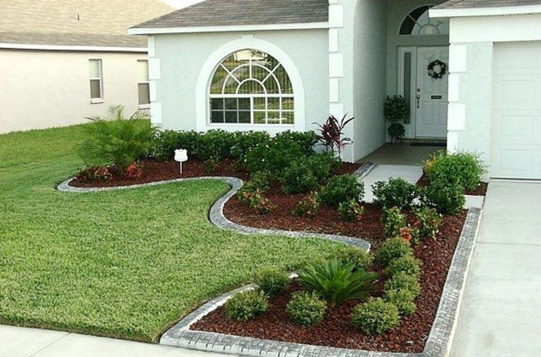 Low Maintenance Garden | Front yard landscaping design ...
