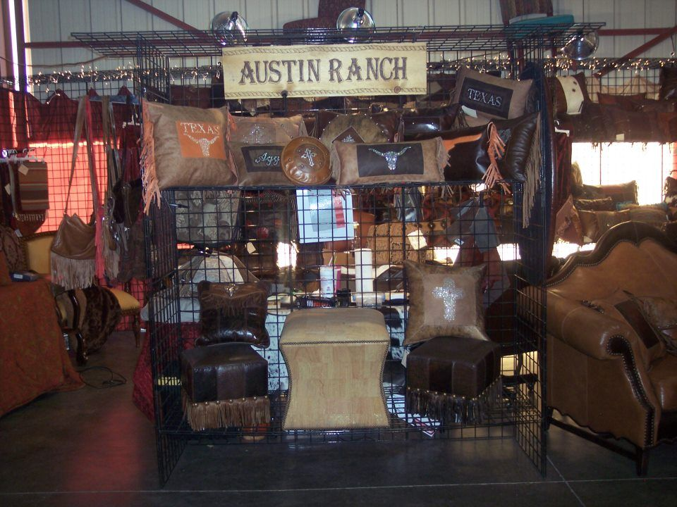 Austin Ranch Furniture..The Canton Trade Days Are Here And We Have A Super