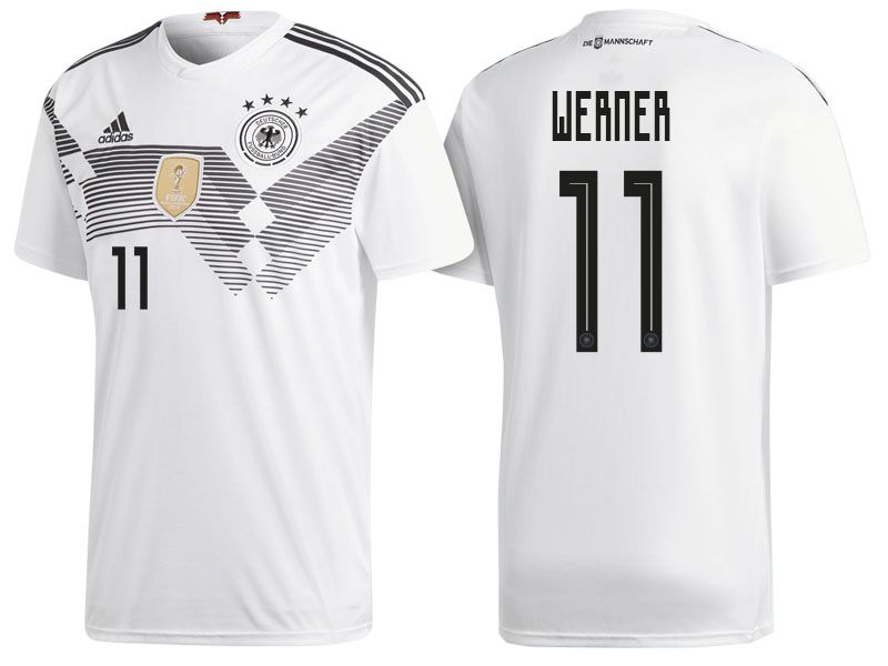 Germany 2018 World Cup Home Jersey timo werner  2eb53fbd4