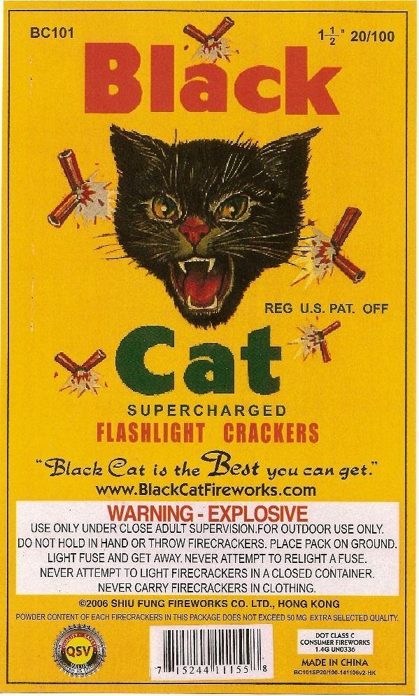 Pin by BATCHIT on useful stuff Black cat fireworks