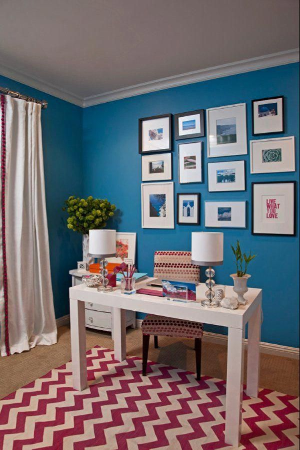 47 amazingly creative ideas for designing a home office on home office color schemes id=34636