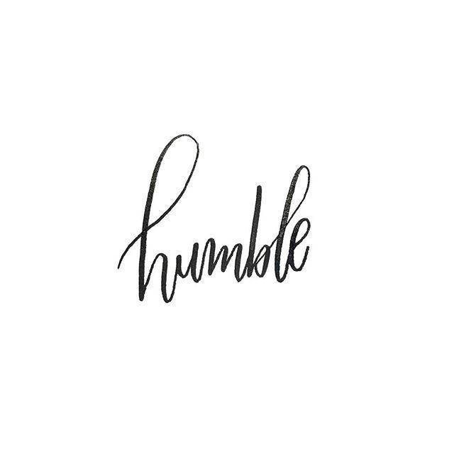 Lihliann Photo Humble Tattoo Humble Words Word Tattoos