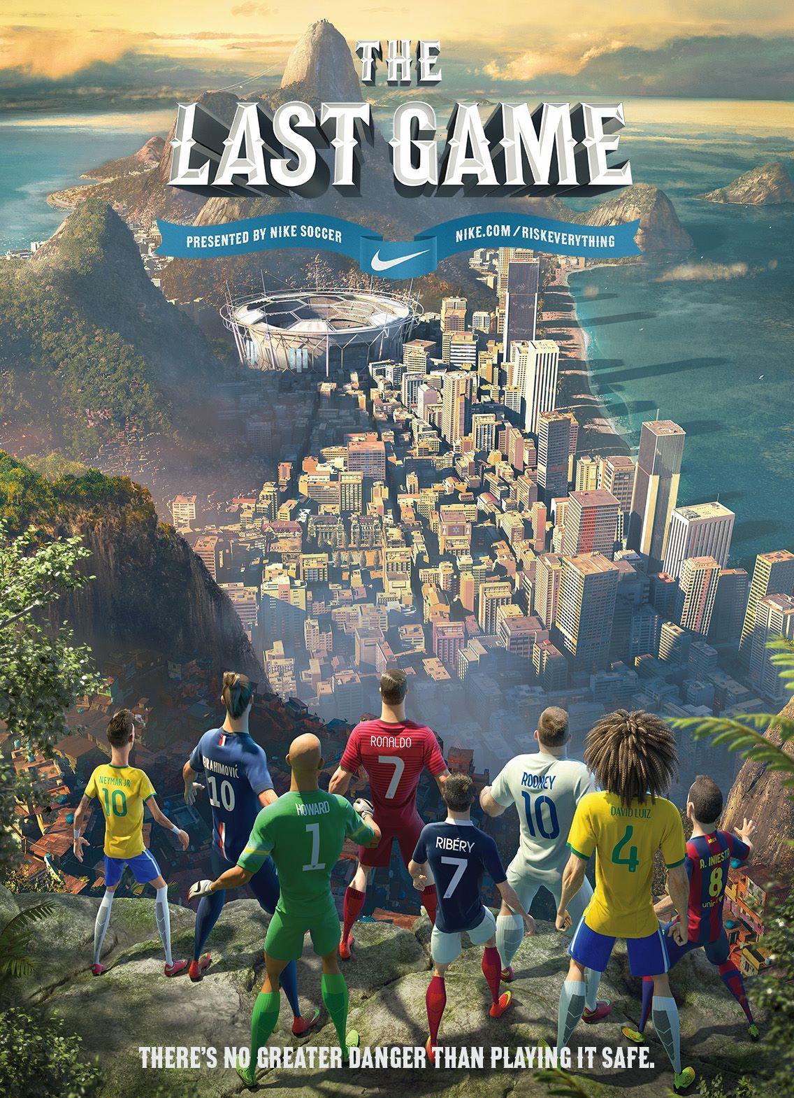 Finito Príncipe Mucho  Nike The Last Game poster #futbol #soccer #ronaldo #andresinesta #davidluiz  #neymar #rooney   Nike football, Soccer art, Football wallpaper