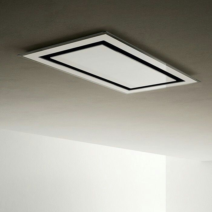 Erica Ceiling Mounted Cooker Hood   Comparatively Quiet !