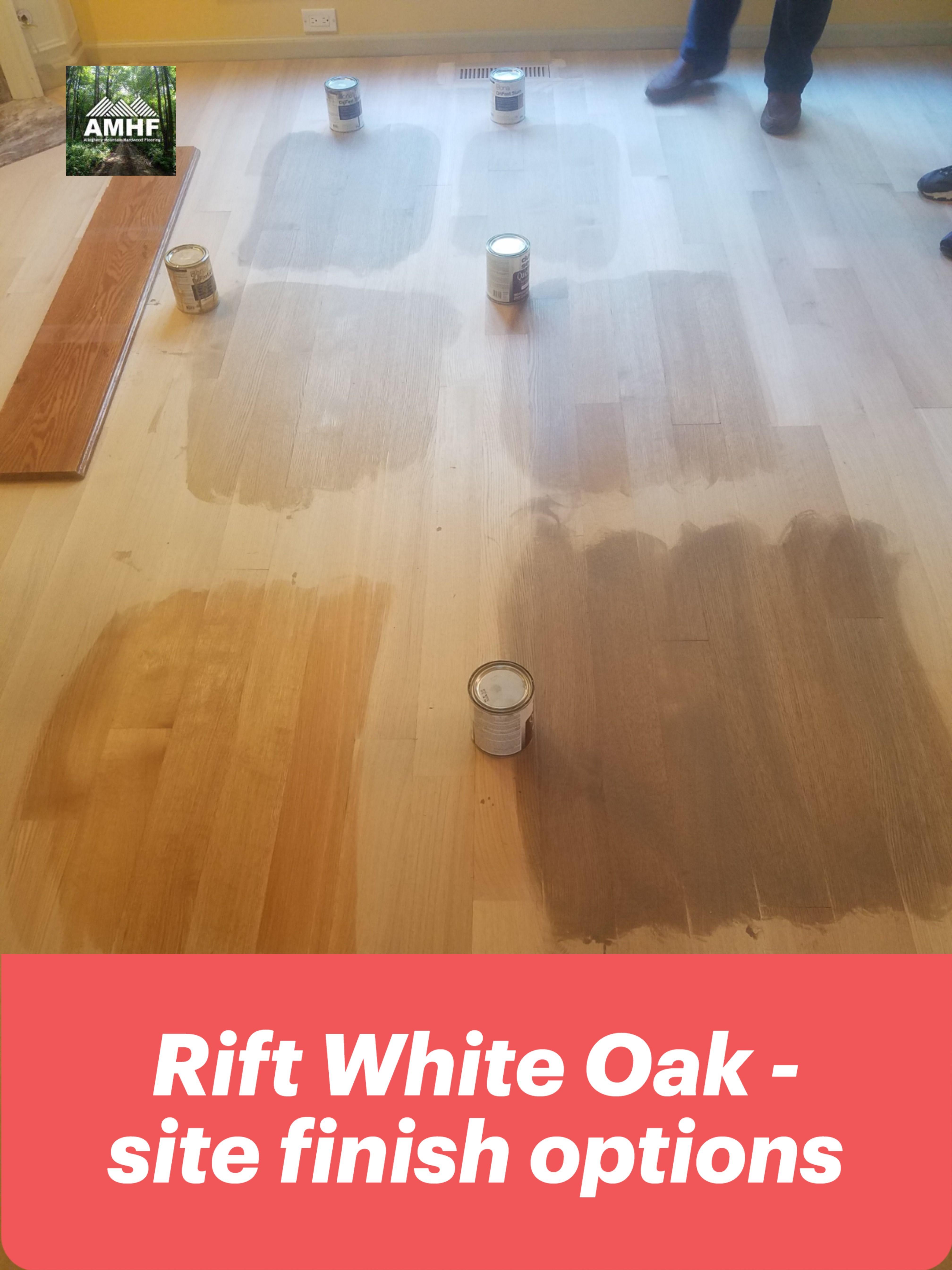 Rift Sawn White Oak Site Finish In 2020 Red Oak Floors White Oak White Oak Floors