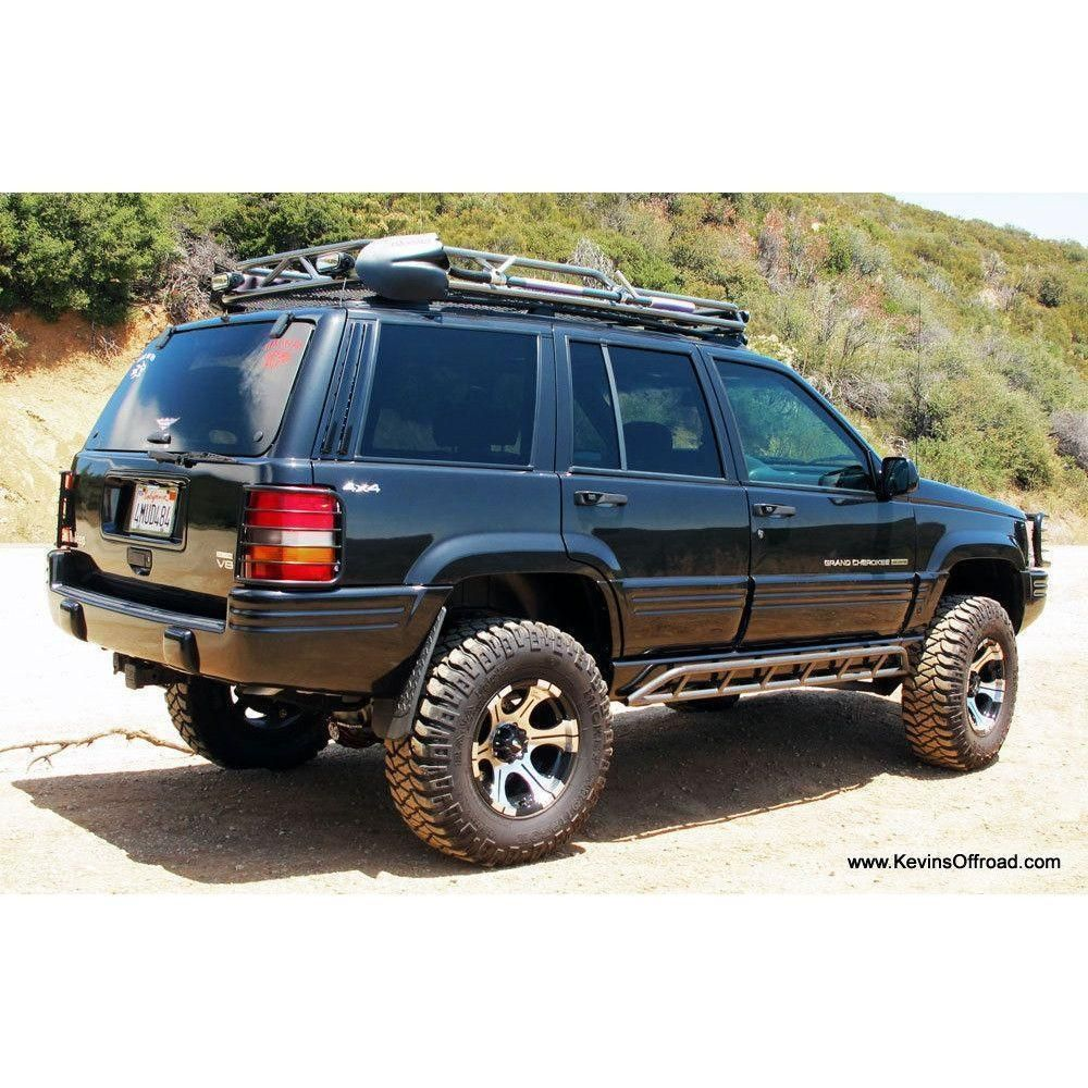 Jeep Grand Cherokee Zj Roof Rack Safari Style Jeep Grand Jeep Grand Cherokee Zj Jeep Grand Cherokee