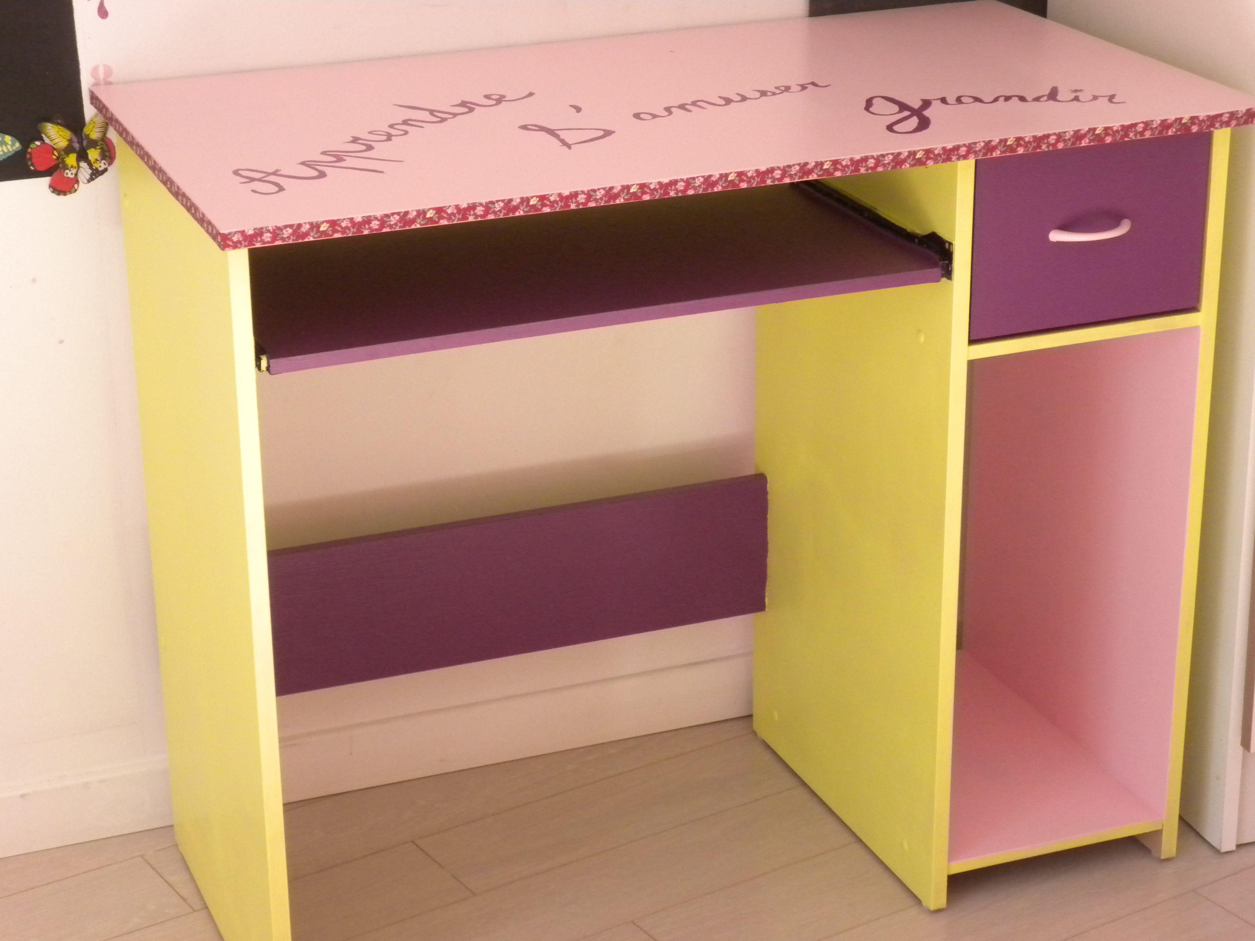 Bureau fille décoration chambre d enfant fille