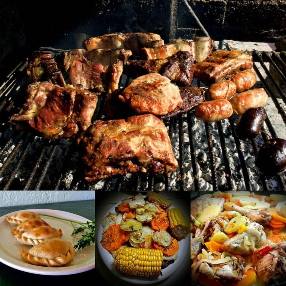 Un rico asado con chorizo y morcillas, empanadas sanjuaninas, parrillada vegetariana, pollo al disco... son algunas de las exquisiteces criollas que podrás degustar en nuestro restaurante.