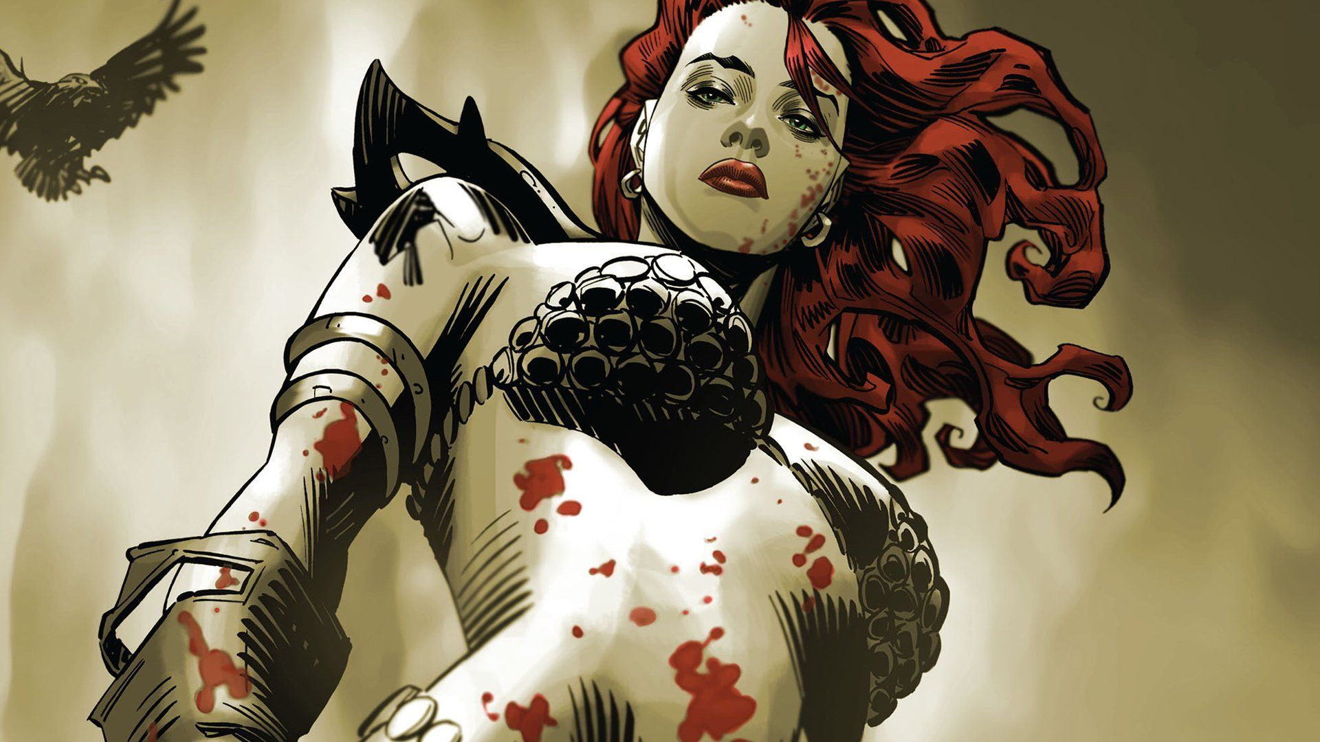 Pin On Red Sonja