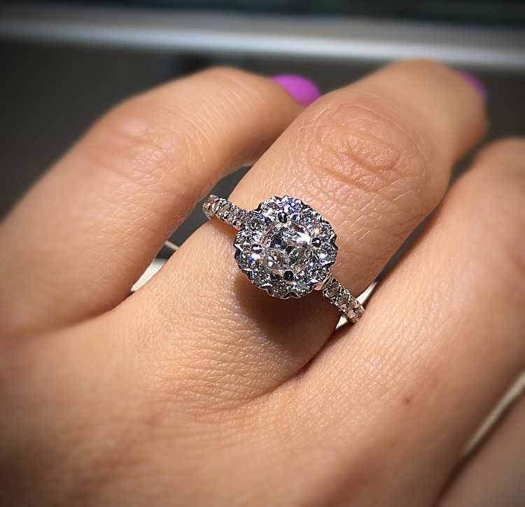 You Seriously Won T Believe These Cushion Cut Engagement Rings Or