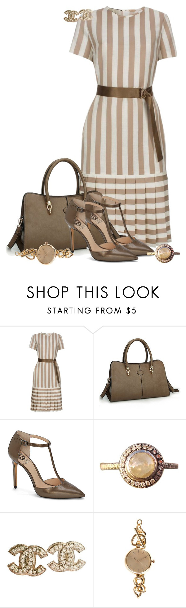 """""""Zahara"""" by rotwein ❤ liked on Polyvore featuring Paul Smith, Vince Camuto, Barneys New York, Chanel and ZALORA"""