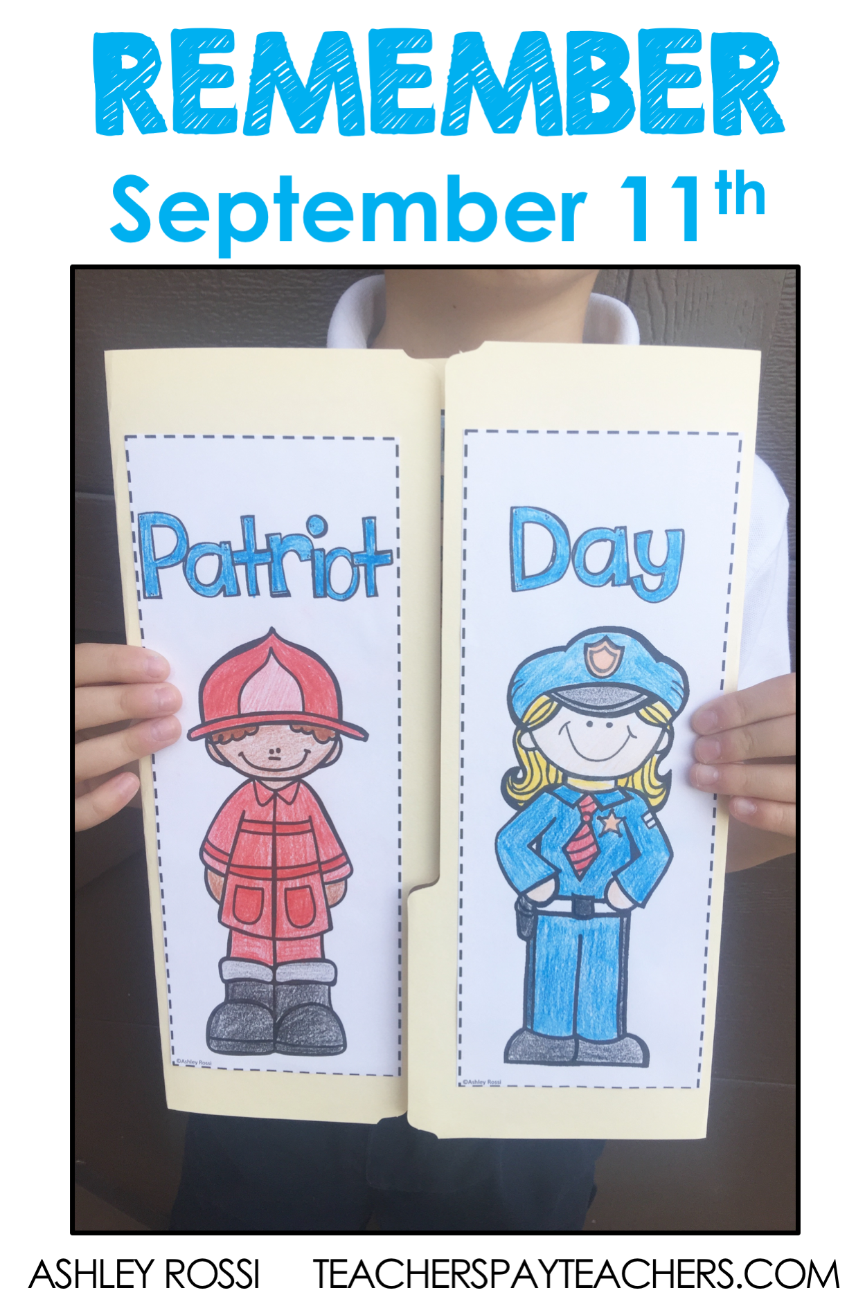 September 11 Lap Book For Patriot Day