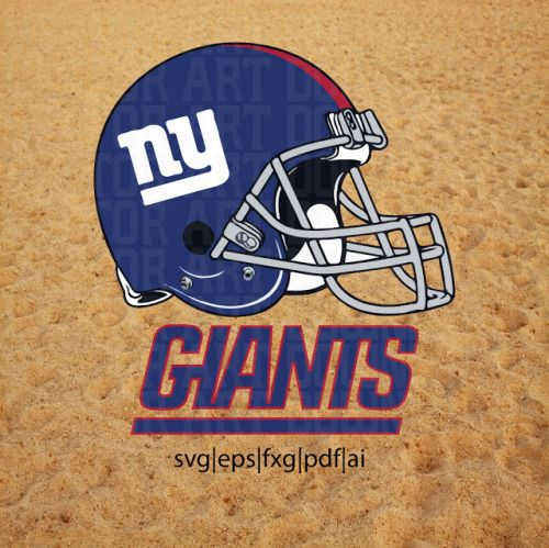 Download New York Giants Vector SVG NY NFL Football DXF Download ...