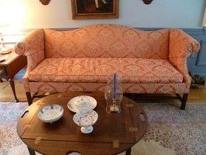 Charming Southwood Furniture Co Camel Back Sofa   EBay