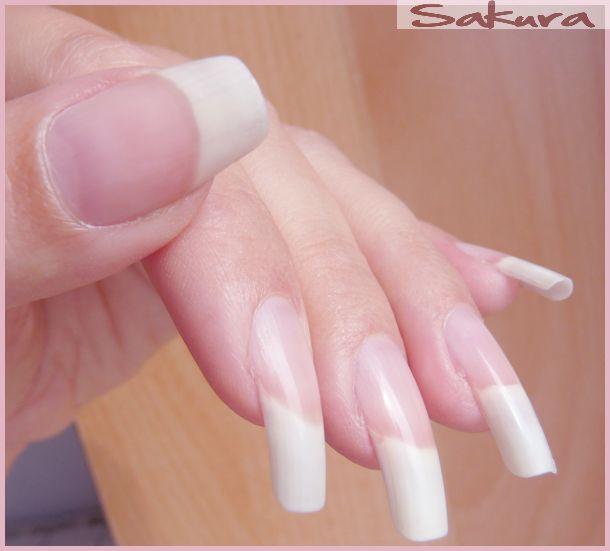 Nail Art Sakura | Nails! - Translucent / Clear / Natural | Pinterest ...