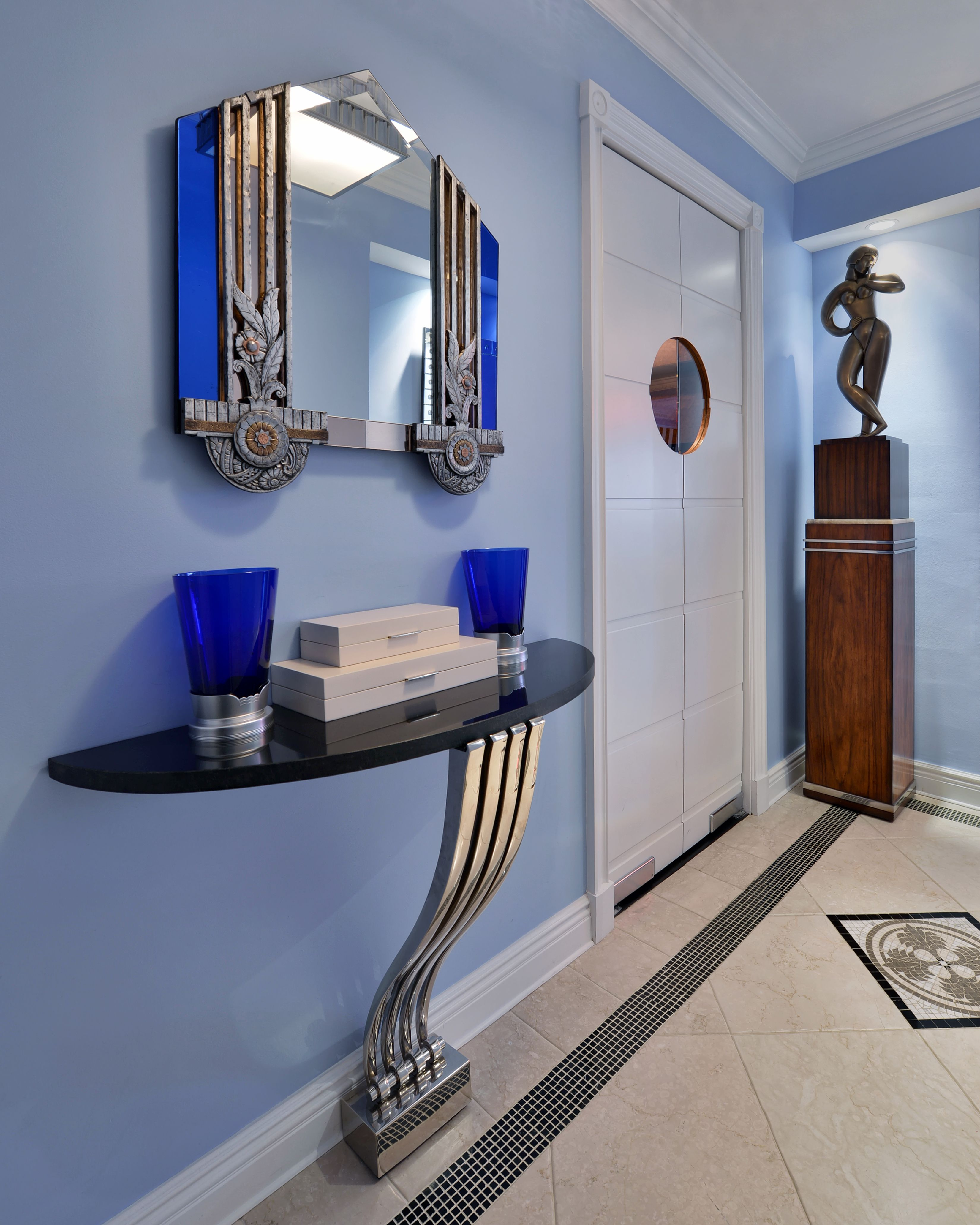 Exceptional Manhattan Art Deco Apartment By Baltimore Design Group On InCollect