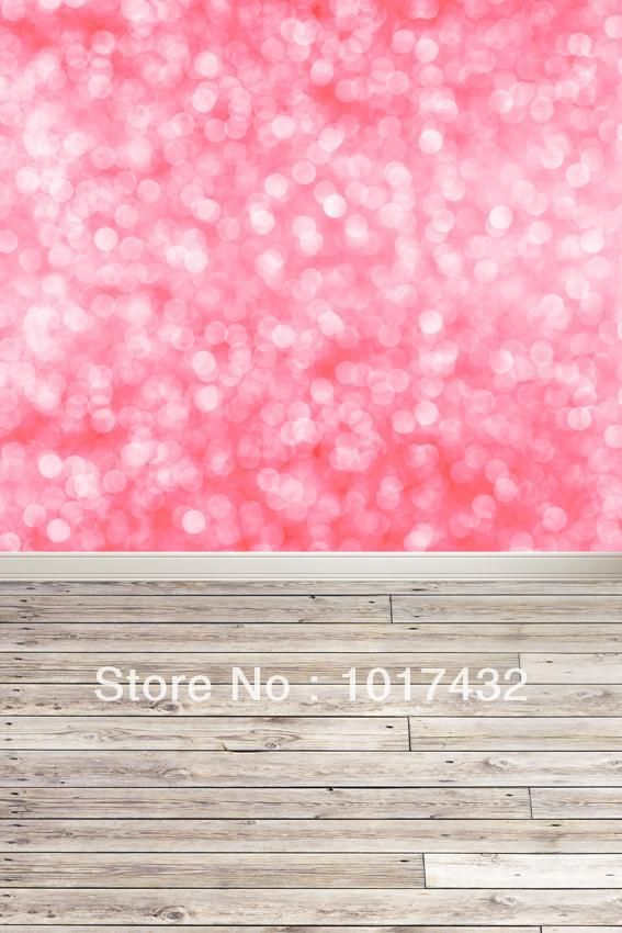Custom size pink glitter bokeh bright sparkle for Cheap glitter wallpaper