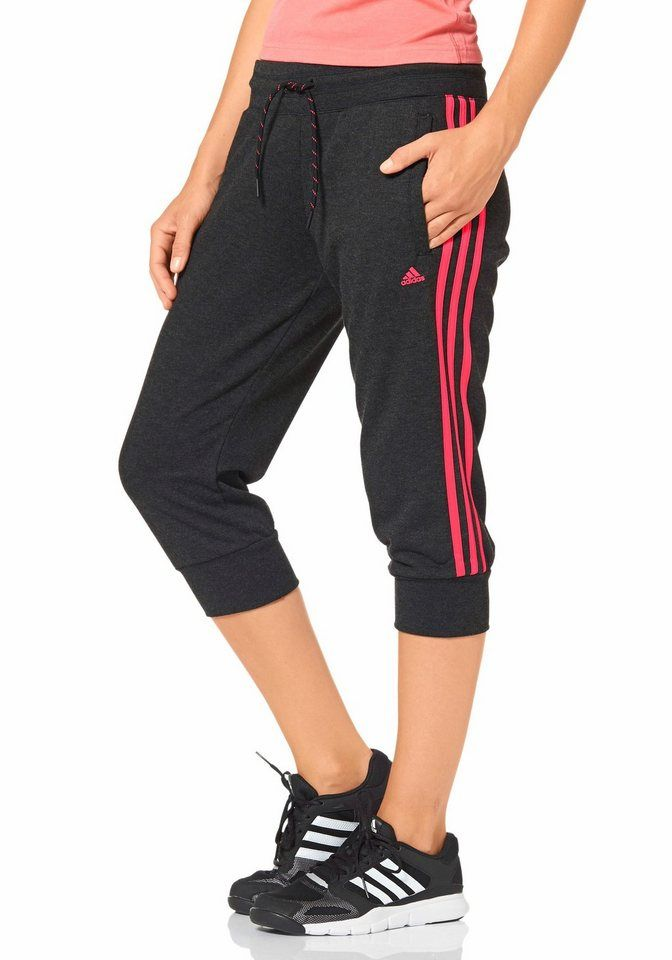 ADIDAS PERFORMANCE DAMEN Fitness Kapuzen Jacke Essentials