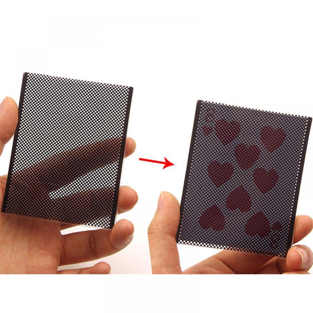 Popular Card Vanish Illusion Change Sleeve CloseUp Street Magic Trick Magic Tool