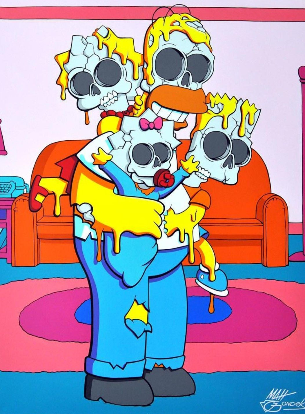 Simpsons tegnefilm porno bilder