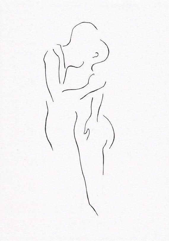 Drawings of erotic figures-8020
