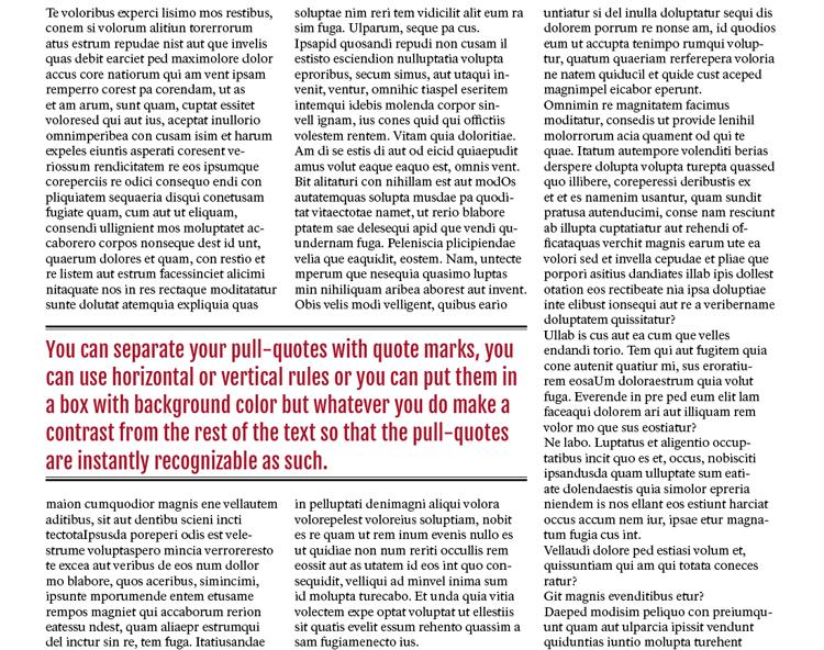 pull quotes pull quotes design quotes magazine design