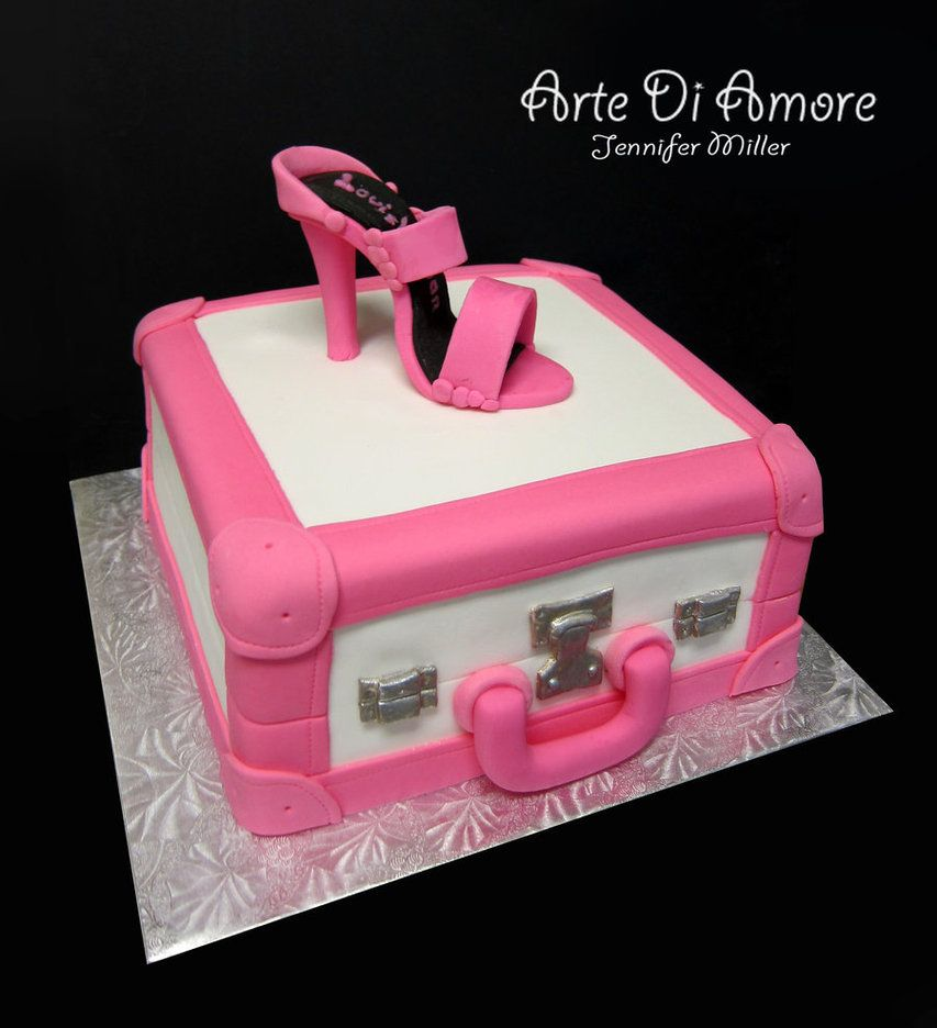 pretty suitcase cakes - Google Search | You're gonna try to make ...