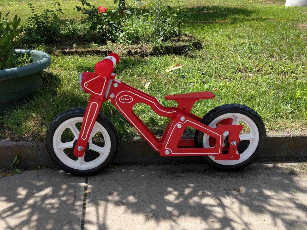 Wooden Balance Running Bike Tricycle Bike Wooden Toys