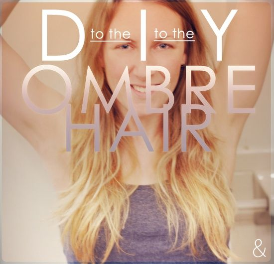Diy ombre hair let your hair down pinterest diy ombre hair diy ombre hair solutioingenieria Image collections