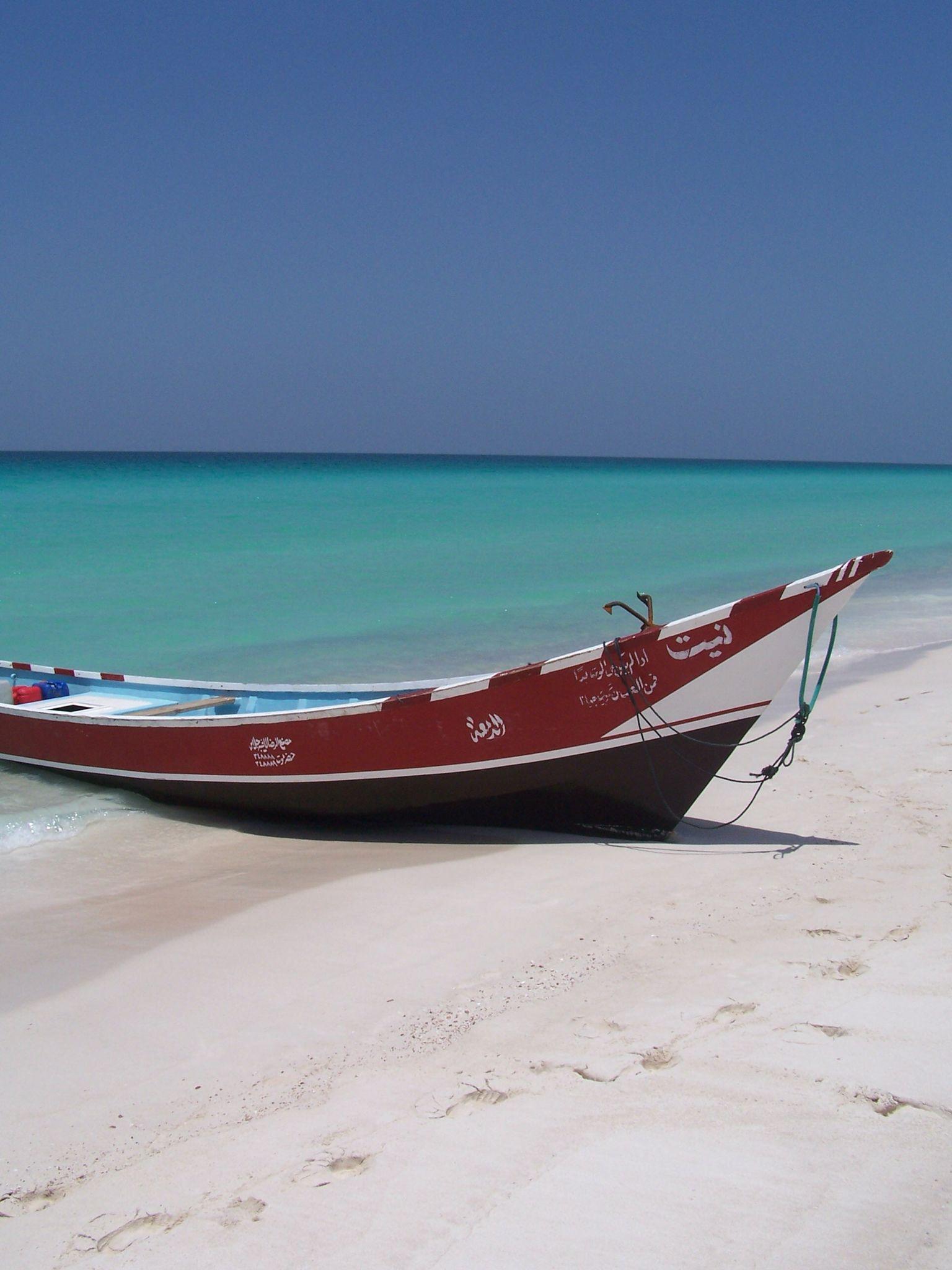 Beach in Sokotra, Yemen