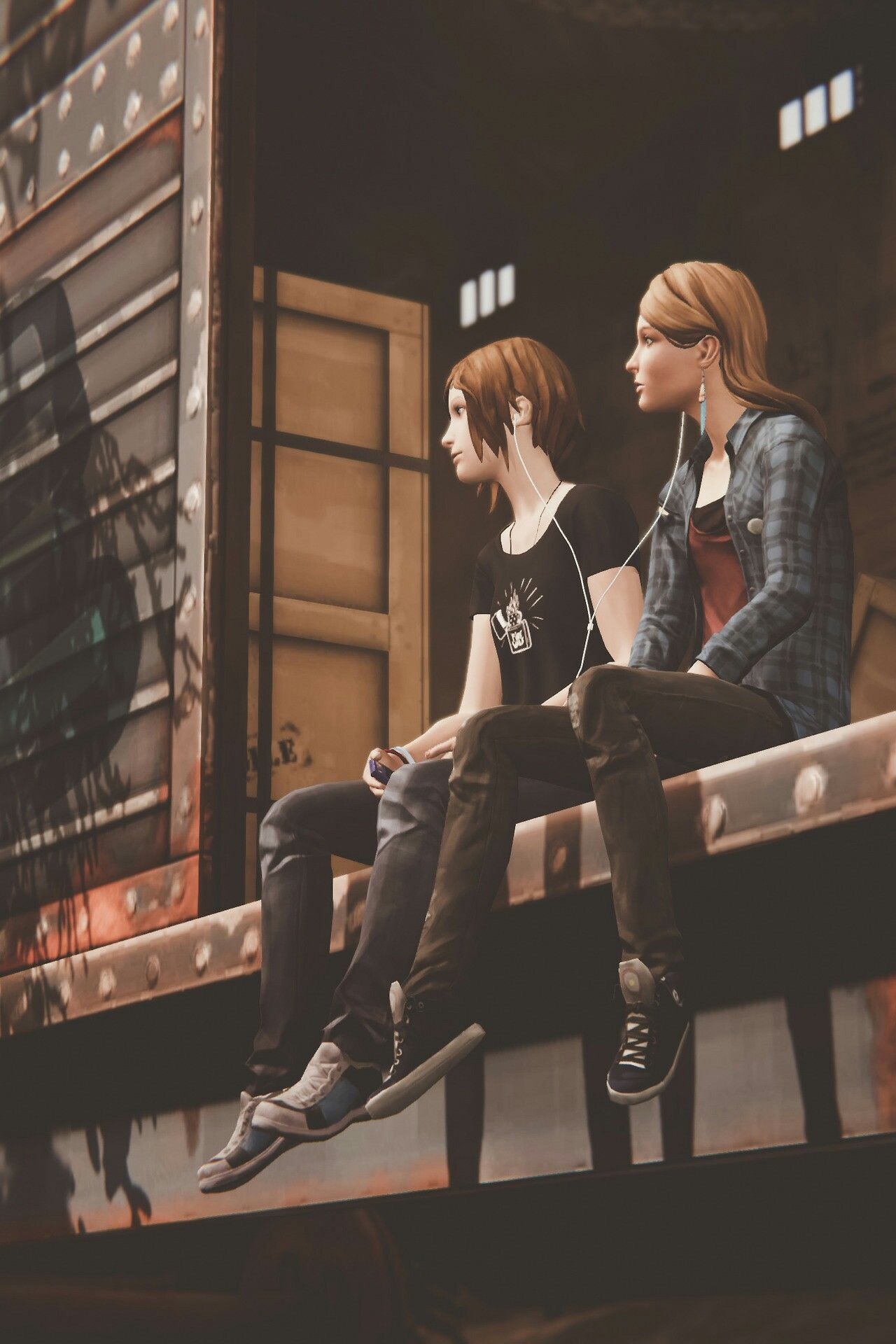 Chloe Price & Rachael Amber - from Life is Strange: Before the Storm -