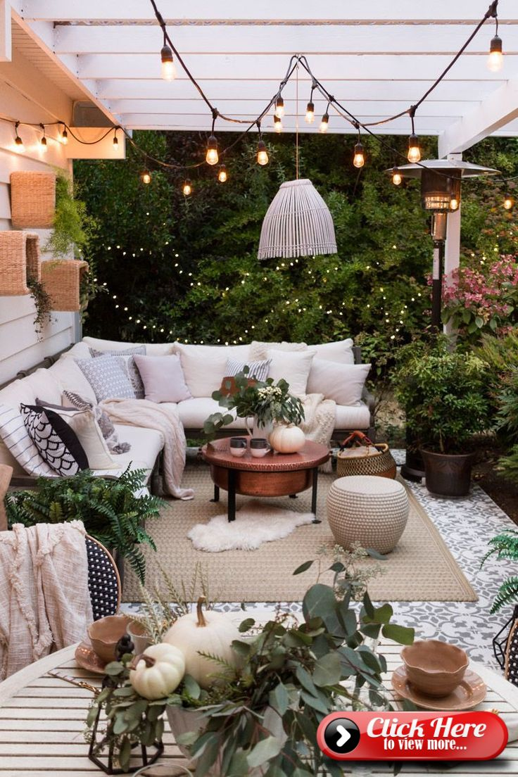 To Create Defined Zones In An Open Plan House Outdoor Patio