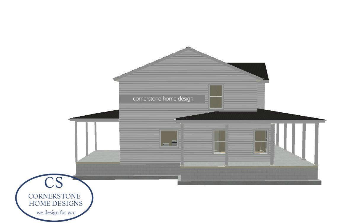 Magnolia Blossom Farmhouse Cornerstone Home House Plans Simple Farmhouse Plans House Plans Farmhouse