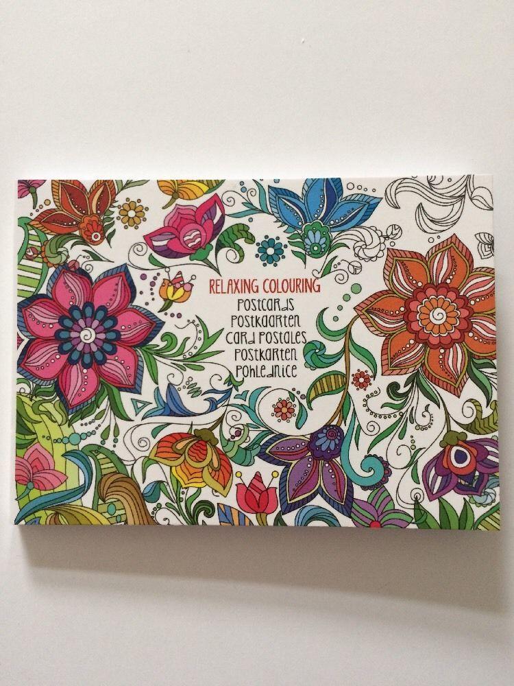 20 x Postkarten Weihnachten Malen Mandala Basteln Geschenk Buch ...