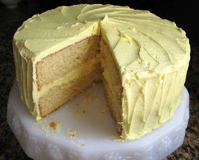 The Bake Off Flunkie High Altitude Yellow Cake W Lemon Buttercream