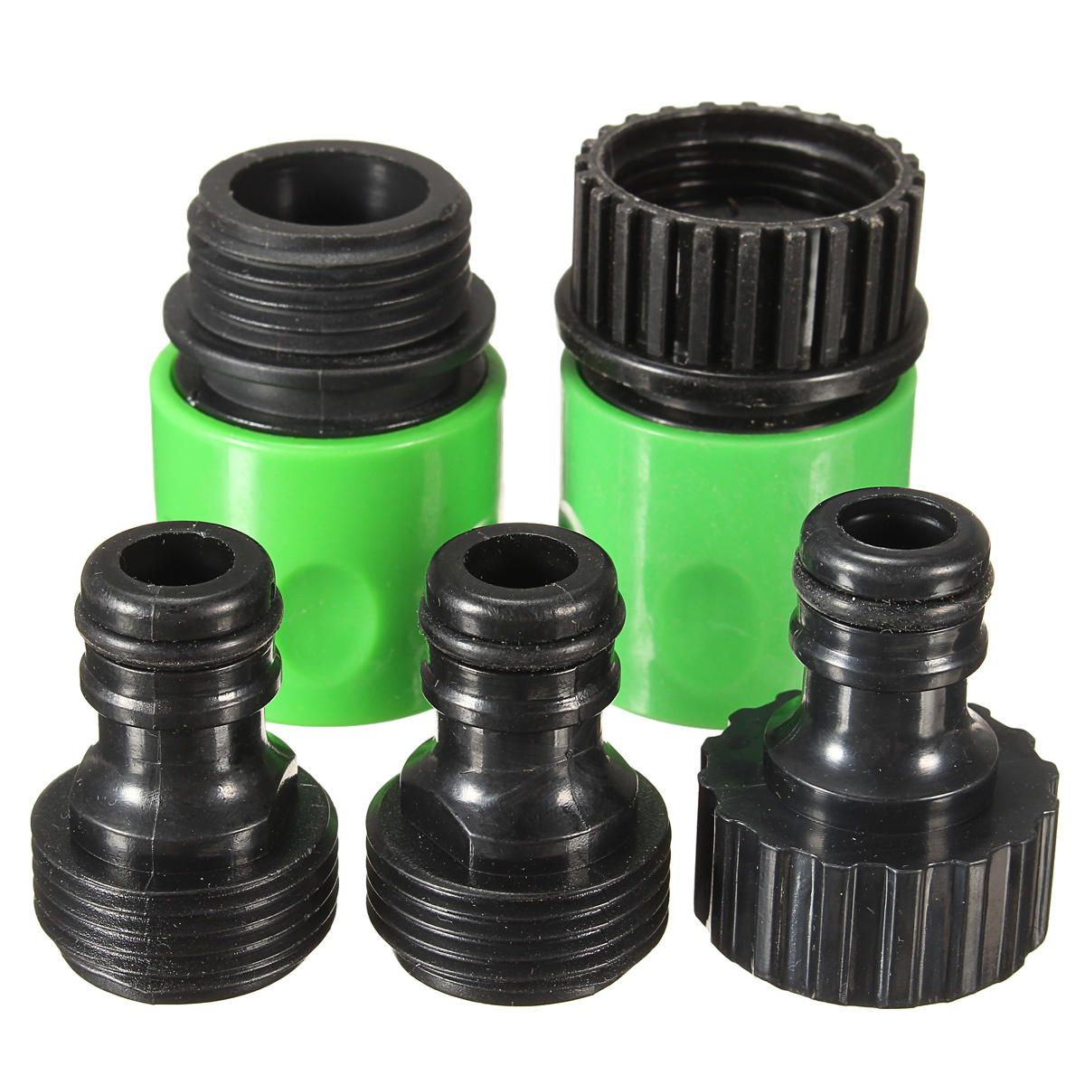 5Pcs Rubber Hose Water Faucet Tap Adapter Rubber Nozzle Washing Pipe ...