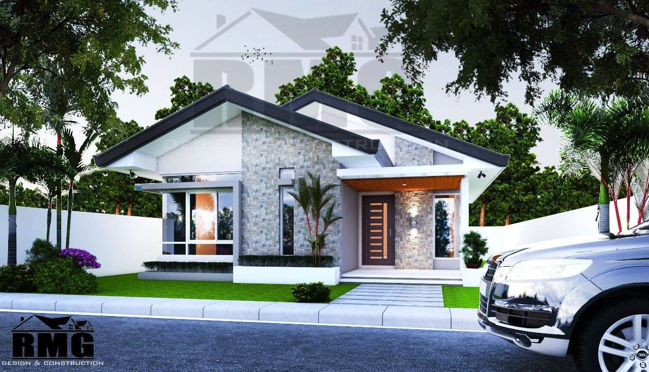Moderne Bungalows Simple Filipino Bungalow House Design With Floor Plan Valoblogi
