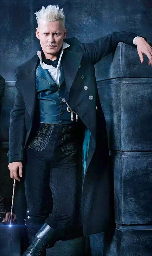 Johnny He S Played Everyone But Never Imagined A Wizard In Harry Potter Well Fantastic Beast Johnny Depp Fantastic Beasts Johnny Depp Johnny Depp Characters