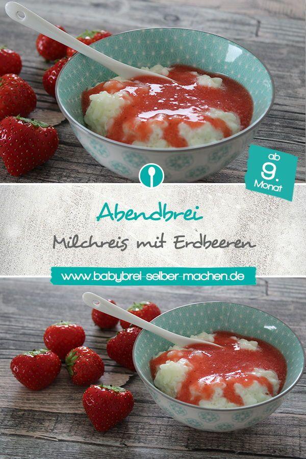 Milchreis für Babys – Abendbrei Rezept ab dem 9. Monat – Food love/Rezepte