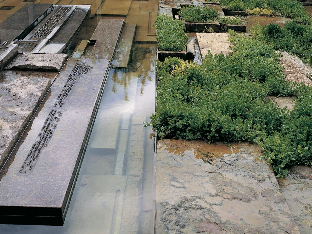 Stunning Michael Singer Studio Stuttgart Memorial Garden