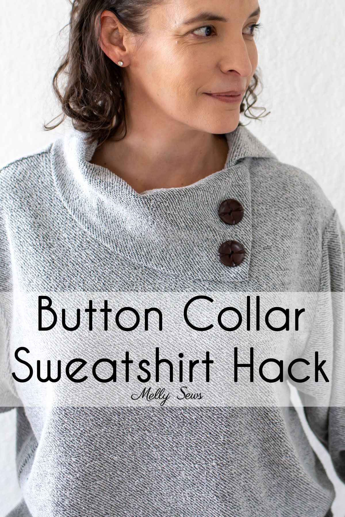 How To Sew A Button Collar Sweatshirt Melly Sews Collared Sweatshirt Sewing A Button Sweatshirts [ 1800 x 1200 Pixel ]